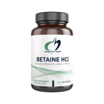 Betaine HCl with Pepsin 120 capsules